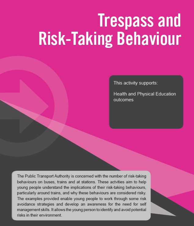 Trespass and Risk-Taking behaviour resource download